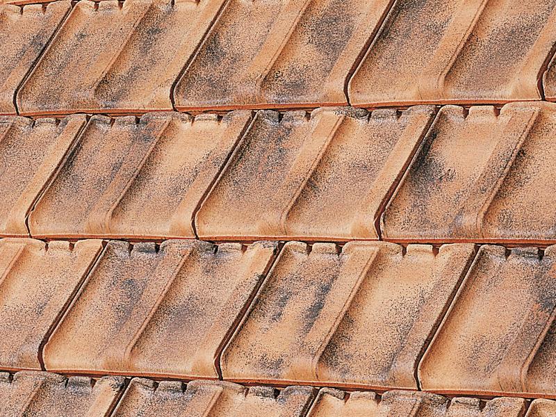 Dachziegelarten und bezeichnungen  Residence - Großformatiger Sonderziegel aus Frankreich