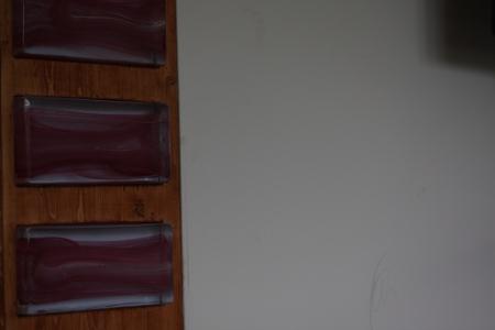 unbeleuchtete glasbausteine in der form mattone. Black Bedroom Furniture Sets. Home Design Ideas