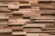 Holz Design Optik Leno (Teak)