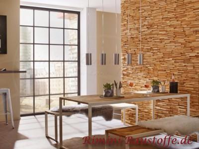 Holzpaneele rimini baustoffe gmbh for Wohnzimmerwand holz